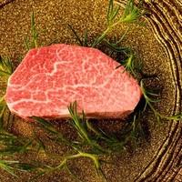 ◆岐阜駅前で食べることができるA5飛騨牛の『熟成肉』。