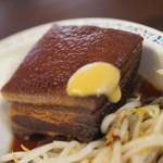レストラン まるみ屋 - 700えん『ラフテー定食』2015年7月