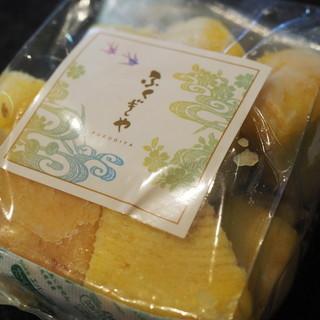 ふくぎや - 料理写真:620えん『フクギの木片(かけら)』国際通り店限定2015年7月