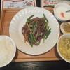 佳佳苑 - 料理写真:牛肉細切りとにんにくの芽炒め定食950円がランチパスポートで540円
