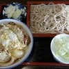 玉川屋 - 料理写真:ミニかつ丼もり蕎麦セット 900円