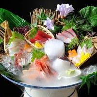 番屋の鮮魚10種鬼盛り 通常3800円→1980円!