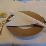 ラ・フェット ひらまつ - ランチ テーブルセッティング
