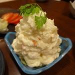 大庄水産 - 山盛りポテトサラダ(450円+税)