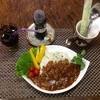 コーヒーロースト ビバーチェ  - 料理写真:黒毛和牛丼キノコのハヤシライス