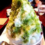 菊水茶廊 - 抹茶氷