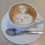 フォーハーツカフェ - カフェラテ