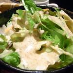 焼肉牛伝 - レタスのサラダ☆♪