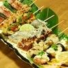 かきえもん - 料理写真:活き貝、鮮魚の貝串・魚串