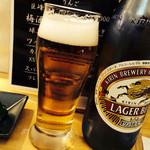 潤旬庵 - 瓶ビール