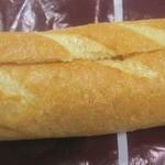 40040266 - リンゴバタークリームを挟んだバゲット