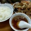 信華 - 料理写真:肉野菜定食