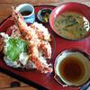活魚問屋 海寶 - 料理写真:えびの天丼