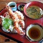 活魚問屋 海寶 - えびの天丼