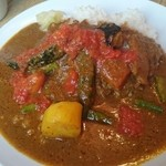 もりやま屋 - 完熟トマトと夏野菜カレー