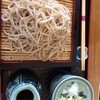 そば廣 - 料理写真:天ざるそばの蕎麦!