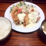 ボンバーキッチン - 鶏南蛮定食 3つ