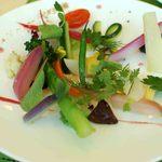 レストラン・アスペルジュ - 美瑛の畑~20種類の野菜を使った取り合わせ