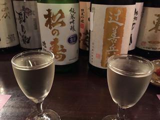 かんだ光壽 - 辻善兵衛、松の寿、こちらも美味しくいただきました。