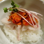 セアブラノ神 - 黒豚キムチ飯