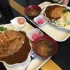 金曜日 - 料理写真:左:カツカレー(並) 右:カツカレー(小)
