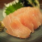 ラ・トゥーク - 料理写真:840えん『島魚のお刺身(カジキ)』2015年7月