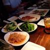 アゴラ - 料理写真:呑みホのコース料理  野菜中心に肉に魚に…次々出てきて食べきれない〜(˶‾᷄ །། ‾᷅˵)
