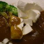 ガリバーハウス - クリームチーズのカレー☆平日2時までのランチセットあり☆