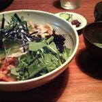 李青 - ビピンパ(1000円、スープ、香の物付)