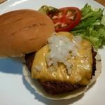 成木カフェ - ハンバーガー