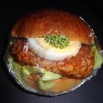 マロン - ハンバーガー(170円)