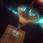 shot bar アメリカ物語 - マティーニ。