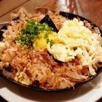 恵屋 - ★チーズ山芋鉄板焼き