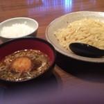 北摂池田 美味処 嘉づ家 - カレーつけ麺(〆飯つき)