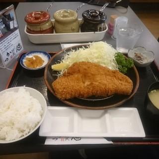 とんかつ川久 - 料理写真:上黒豚ロースかつ