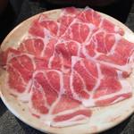 しゃぶ亭 - ■豚しゃぶ定食(上豚80g):885円
