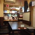 赤坂 あそび亭 - 掘りごたつの席でした(^O^☆♪