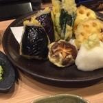 はす家 - 加賀野菜の天ぷら