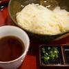 なかぶ庵 - 料理写真:生そうめん(普通盛り・500円)