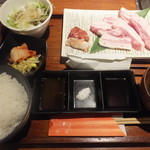 BAKURO - 黒豚カルビセット