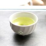 ヒダマリ カキゴオリ スタンド - 食後の緑茶 '15 7月中旬