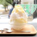 ヒダマリ カキゴオリ スタンド - 柑橘3種とソーテルヌ (850円) '15 7月中旬