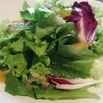 ニコラピザ - ランチグリーンサラダ