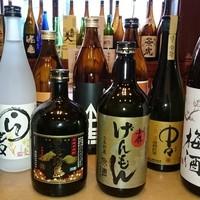 ☆馬肉料理と相性抜群!厳選の九州焼酎と日本酒もご堪能下さい♪