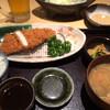 恵亭 - 料理写真:ロースカツ定食☆生中ビールセット
