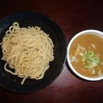 麺堂 稲葉 - 辛みそつけめん(900円)(国産小麦麺+50円)