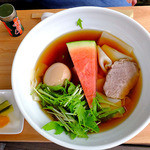 何時も庵 - 冷麺うどん(2015年7月)