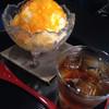 金魚 - 料理写真:杏のかき氷