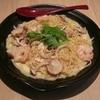 洋麺処 あいる - 料理写真:「海老とキノコと保立の胡麻クリーム」950円税込