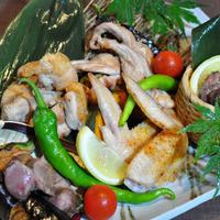 瀬戸赤鶏 3種盛り